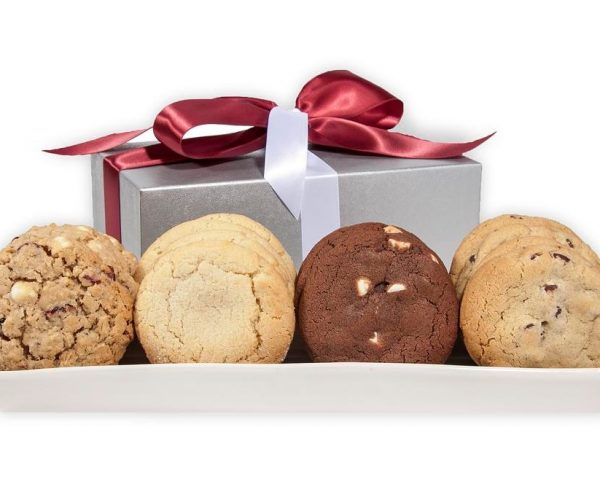 Silver Elegance 16 ct Cookie Gift