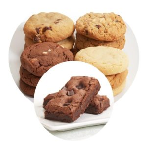image on page for  Ultimate Combo  / perceived to contain Biscuit, Cookie, Food, Chocolate, Dessert, Fudge, Brownie, Bread, Muffin, Cream, Creme, Ice Cream, Peanut Butter, Cocoa