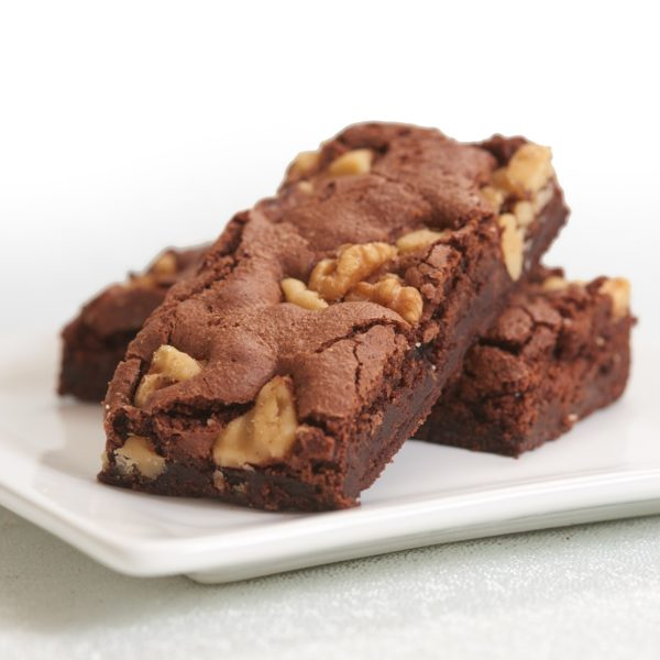 image on page for  Chocolate Walnut Brownie  / perceived to contain Chocolate, Dessert, Food, Fudge, Biscuit, Brownie, Cookie