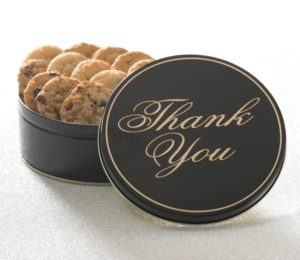 Thank You 12 ct Cookie Tin