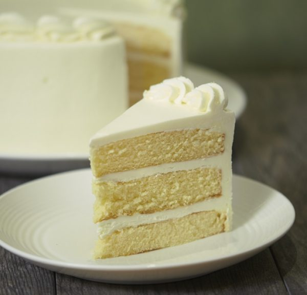 image on page for  Lemon Dream Cake  / perceived to contain Cream, Creme, Dessert, Food, Cake, Custard, Butter, Icing