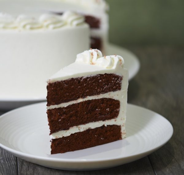 image on page for  Red Velvet Cake  / perceived to contain Cake, Dessert, Food, Biscuit, Brownie, Chocolate, Cookie, Fudge, Cream, Creme