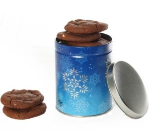 Snowflake Cookie Tin