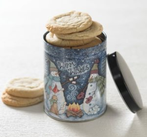 Warm Wishes Cookie Tin