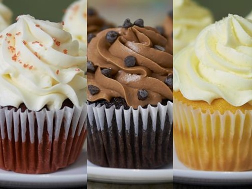 image on page for    / perceived to contain Cake, Cream, Creme, Cupcake, Dessert, Food, Icing, Bread, Muffin, Peanut Butter