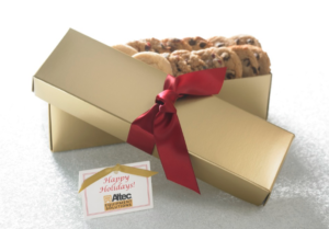 Image perceived to contain Gift, Molding, Box on the Corporate Logo Tins Archives - Cornerstone Cookie Gifts page
