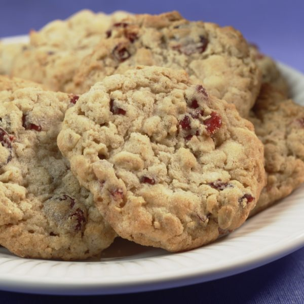 Cranberry Oatmeal White Chocolate Chip Cookie