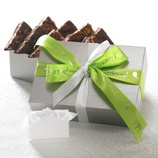 Happy Birthday 12 ct Brownie Gift