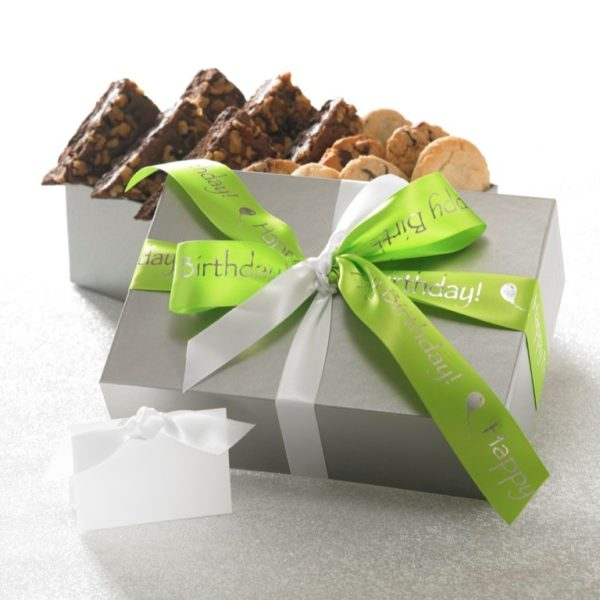 Happy Birthday Cookie and Brownie Gift