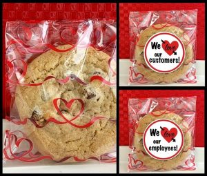 image on page for    / perceived to contain We ove customers! our We love employees! ou Confectionery, Food, Sweets, Plant, Biscuit, Cookie, Bread